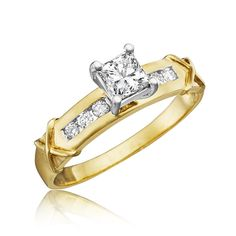 Carat T. Solitaire Engagement, Solitaire Rings, 2 Carat, Princess Cut, Beautiful Rings, Wedding Bands, Bling, Fancy, Wallet