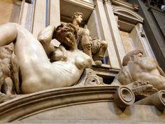 Night (Detail) Michelangelo Buonarroti Italian 1475-1564 1526-1531 Italian Renaissance Marble New Sacristy in San Lorenzo; Florence, Italy