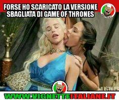 * Il Game of Thrones sbagliato (www.VignetteItaliane.it)