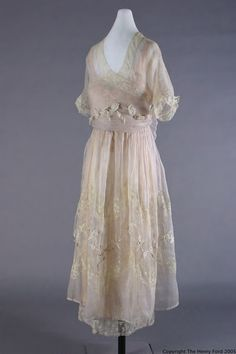 Lucile Dress - c. 1918 - by Lucile Ltd. New York - The Henry Ford Costume Collection - @~ Mlle