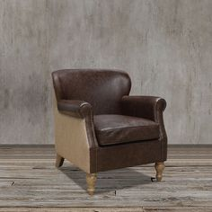 Make your space as welcoming as possible with this vintage inspired, faux leather and jute, club arm  chair featuring removable seat cushions, nailhead trims, flared arms and beautiful spindle legs to complete the look.