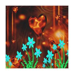Decorate your walls with canvas prints from Zazzle! Choose from thousands of great wrapped canvas to beautify your home or office. How To Wrap Flowers, Abstract Flowers, Canvas Art Prints, Wrapped Canvas, Gallery, Poster, Painting, Decor, Decoration