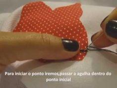 Como fazer ponto caseado a mão,rápido e fácil!