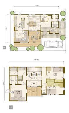 House Plans Uk, Dream House Plans, Modern House Plans, Japanese Apartment, Craftsman Floor Plans, Villa Plan, Dream House Interior, Apartment Layout, Sims House