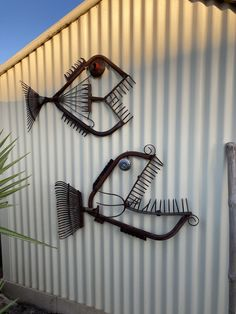 Welding Art Projects, Metal Art Projects, Metal Crafts, Recycled Metal Art, Scrap Metal Art, Sculpture Metal, Fish Sculpture, Metal Yard Art, Welded Metal Art