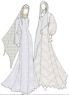 moslem wedding dress
