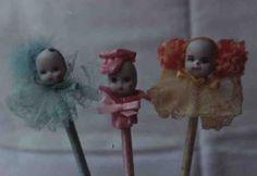 Lápis Carinhas- Melindrosa, Menino,Palhacinho
