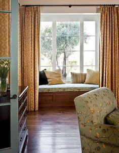 Bedroom Decorating Ideas: Window Treatments - Traditional Home®