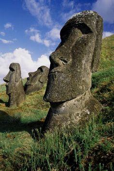 Easter Island Moai Photograph
