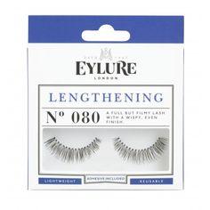 Wunderschöne Augen mit Wimpern, die optisch den Blick öffnen!  Lengthening Nr. 080 - Wimpern von Eylure