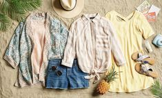 Swaying palms are just a Fix away . For a chance to win a dream vacation within the continental U. (well even pack the bags) schedule a Fix! No purchase necessary. Contest ends at at See official rules at the link in bio. Cute Outfits With Shorts, Short Outfits, All Black Dresses, Stitch Fix Outfits, Stitch Fix Stylist, Yellow Dress, Yellow Top, Striped Dress, Spring Summer Fashion