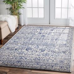 Bring exotic impact to your living room with the intricate Fontanilla Oriental Rug, Blue from Rug Culture in your space. Room Rugs, Rugs In Living Room, Area Rugs, Living Area, Fade Styles, Transitional Rugs, Reno, Modern Rugs, Contemporary Rugs