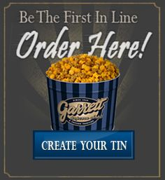 Customize your Garrett Popcorn tin choose a design of your choice for free Get the shorty pack at a rebate, or enjoy discounted shipping when you order the Graduation pack Any offer you see on this page is % free and you can use this with no purchase obligation at all.