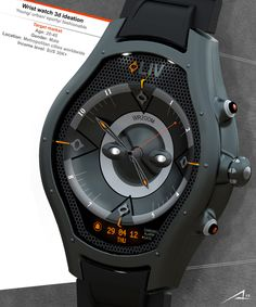 LIV watch project actually has been designed to answer LIV Challenge to create stylish original watch design.