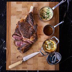 La côte de bœuf à la plancha et sa sauce hollandaise au poivre sauvage  d' @hugodesnoyer . Vous allez vous régaler...