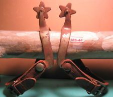 North & Judd Arrow Shank OFF THE RANCH Cowboy Using Spurs & Straps MAKE OFFER $175.00 or Best Offer +$8.95 shipping Item image