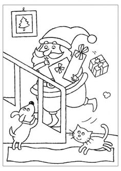 266 Christmas printable coloring pages for kids. Find on coloring-book thousands of coloring pages. Cool Coloring Pages, Christmas Coloring Pages, Printable Coloring Pages, Coloring Sheets, Coloring Books, Greeting Card Template, Card Templates, Christmas Colors, Christmas Crafts