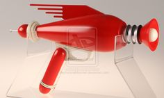 ray gun sculpture - Google Search