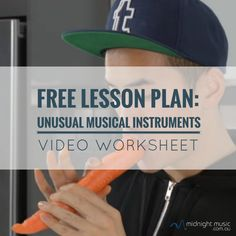 A listening and observation lesson - using Youtube videos. There are some truly amazing videos of unusual instruments on Youtube that are perfect for showing students in class.