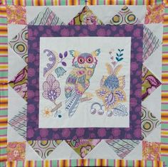 Octavia Owl - Embroidery, Machine embroidery designs, machine embroidery ideas,