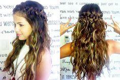 Selena Gomez..greek goddess hair style