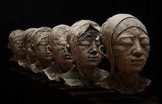 Evelyne Galinski, sculpture 2014-08 on ArtStack #evelyne-galinski #art