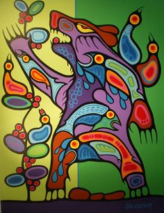 Canadian First Nations Artist Mark Anthony Jacobson, Shemanic Artist of the Contemporary Woodland Art Movement Native Canadian, Canadian Art, Aboriginal Culture, Aboriginal Art, Native American Artists, Native American Fashion, Woodland Art, Pole Art, Haida Art
