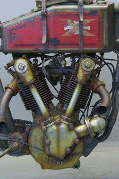 Excelsior 1000cc boardtracker...1919