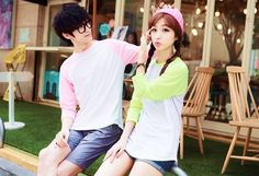 #ulzzang #fashion #couple #kawaii #hairstyle