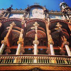 Palau de la Música Catalana, Barcelona (Spain)