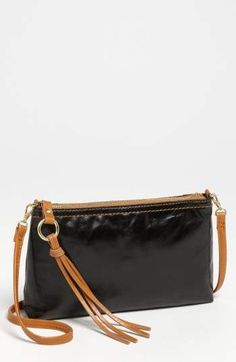 b32d658aedbe Hobo  Darcy  Leather Crossbody Bag Black Leather Crossbody Bag