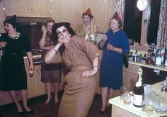 The real party always takes place in the kitchen!