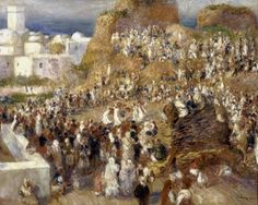 Pierre-Auguste Renoir, Festa araba, 1881  Fonte: Twitter/ @ScienzaeScuola