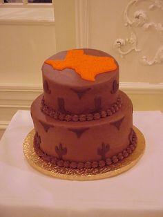 longhorn grooms cake