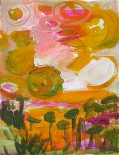 Pinned for interest and a wish to one day be able to paint for love not sale.  earlysummer marth davis