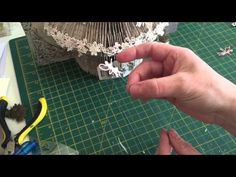 Book folded fairy house decorating idea - YouTube