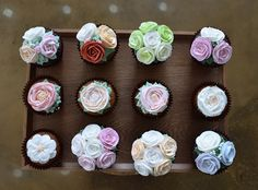 cupcakes for party choco upcakes
