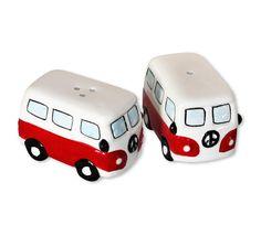 Camper Bus Salz- und Pfeffer-