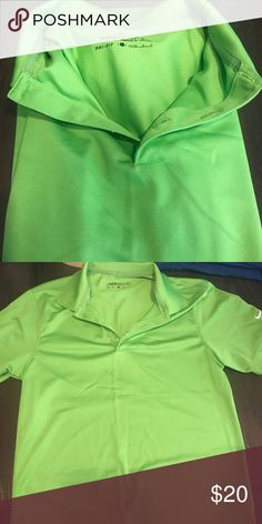 7a61ccd950 Nike windbreaker Neon yellow Nike Medium windbreaker! Great for ...