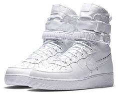 """Formerly a @complexcon exclusive, the """"Triple White"""" SF-AF1 will release again next week online. Cop or not?"""