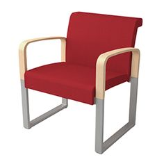Soon is so flexible, it could become the interior designer's answer to DNA. Starting with a simple bench or easy chair, Soon can be configured in virtually limitless sofa combinations, restricted only by space and imagination. Combine benches, one, two and three seater sofa sections and straight, arched or round tables. Armrests are available in wood finish or upholstered. In addition, the upholstery of the seat is exchangeable and the back can be supplied in wood.