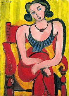 Henri Matisse, Seated Woman.