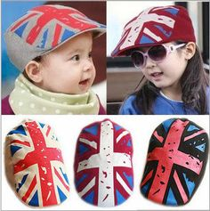 cd2469a72a8b US  6.2  Aliexpress.com   Buy Fashion Baby Kids Beret Sun Hat Union Jack UK  Four Color For Infant Girls Boys Children Hip Hop Casquette Boina Beret Cap  from ...