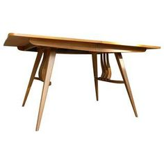 Mid-Century Dining Table with Tapered Legs