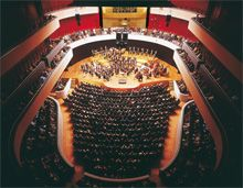 There are 1229 seats in Sibelius Hall #Sibelius #Hall #Lahti