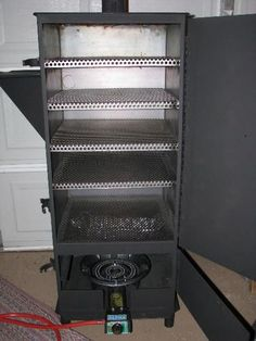 Custom Smoker Builds, Pics of all of them. Bbq Pit Smoker, Bbq Grill, Best Outdoor Pizza Oven, Masterbuilt Electric Smokers, Custom Bbq Smokers, Smoker Designs, Bbq Wood, Homemade Smoker, Smoke Bbq