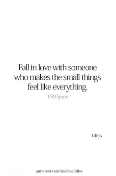 You make it all feel like everything! Unbelievably, awesome everything!