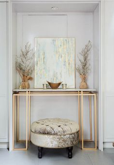 diy furniture couch – Contemporary Rustic Decor 25 Console Tables You Will Love – Looking for a useful little piece of furnitu. Decor, Home Decor Styles, Interior, Contemporary Decor, Home Decor, House Interior, Modern Console Tables, Interior Design, Furniture Design