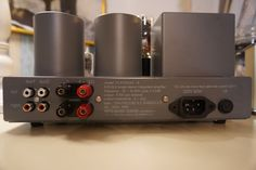 Meta Music Sound VL6 single ended integrated amplifier