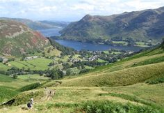 Glenridding and Ullswater, Cumbria, UK (The Lake District).